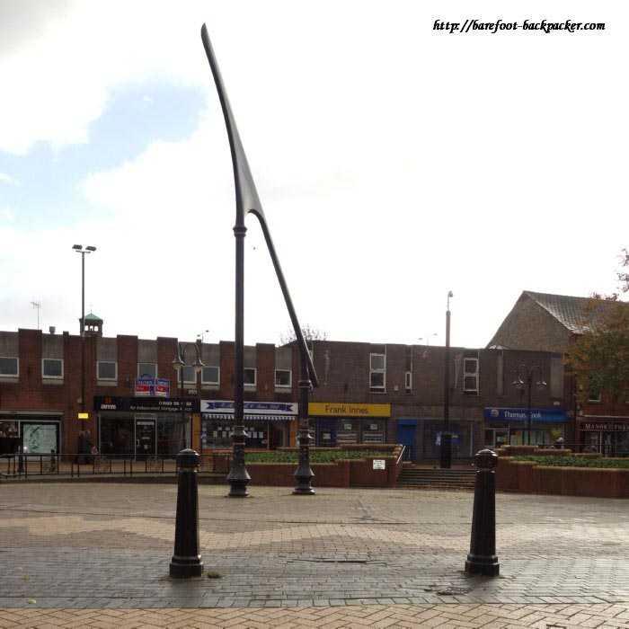 Europe's Largest Sundial, Sutton-in-Ashfield