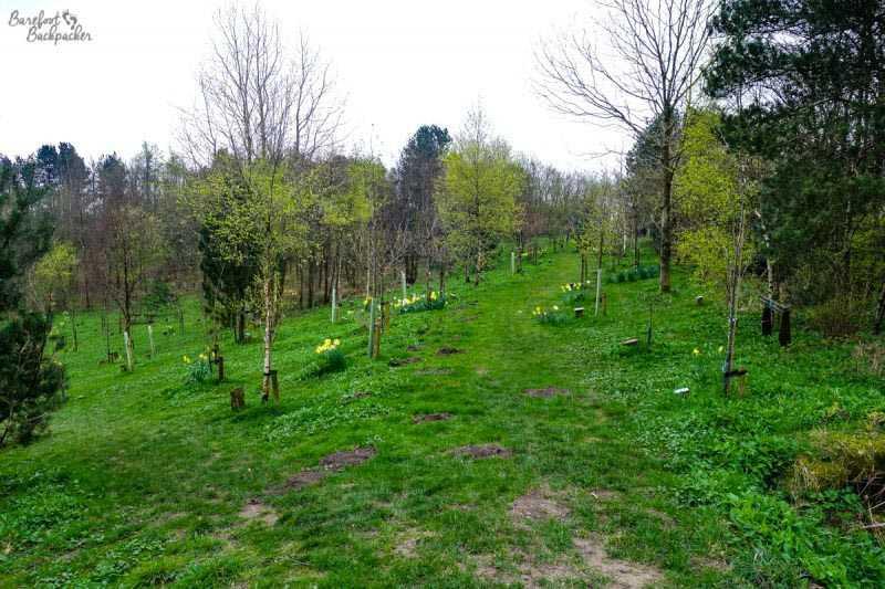 Memorial Garden in Horwich