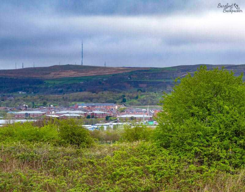 Winter Hill from a distance