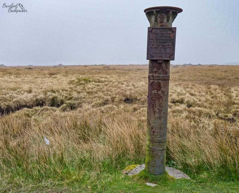 The Scotsman's Stump memorial, Winter Hill
