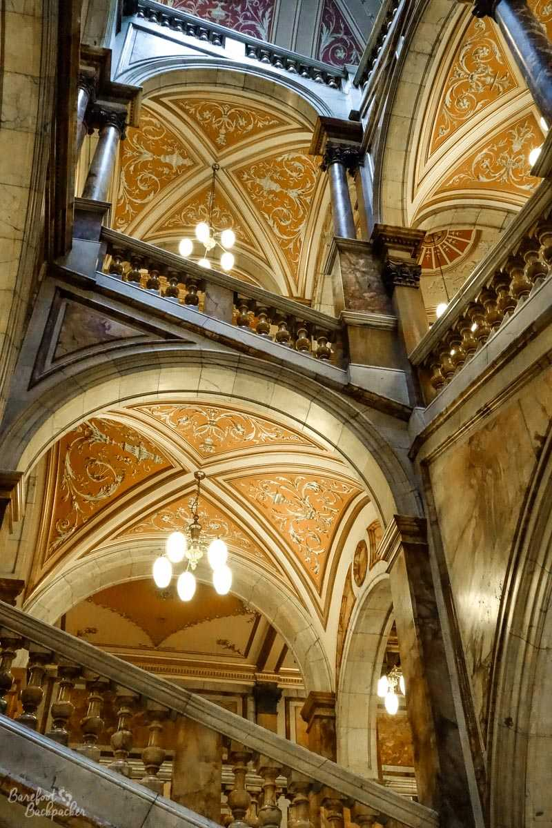 Glasgow - Staircase in the City Chambers