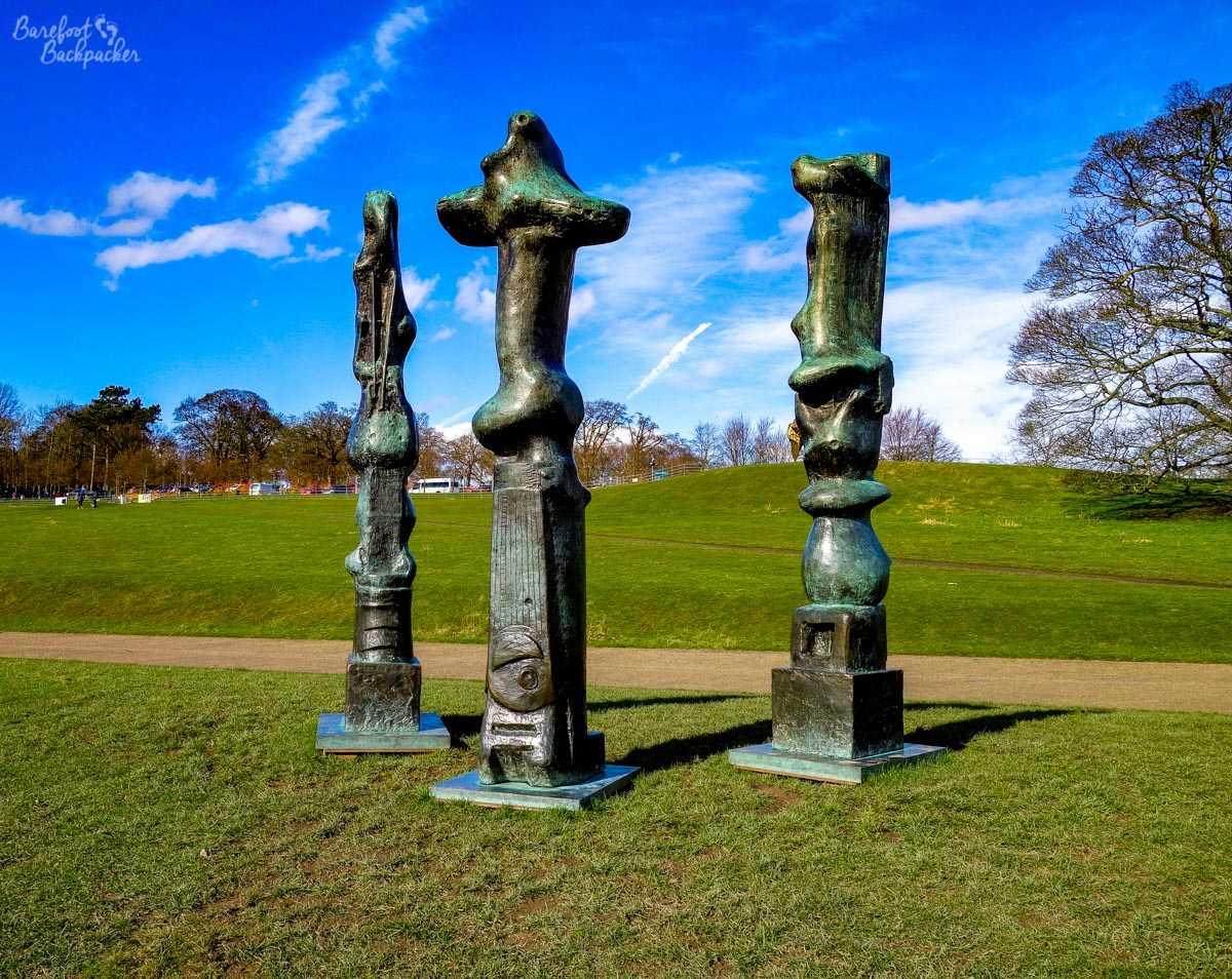 Henry Moore statue, Yorkshire Sculpture Park
