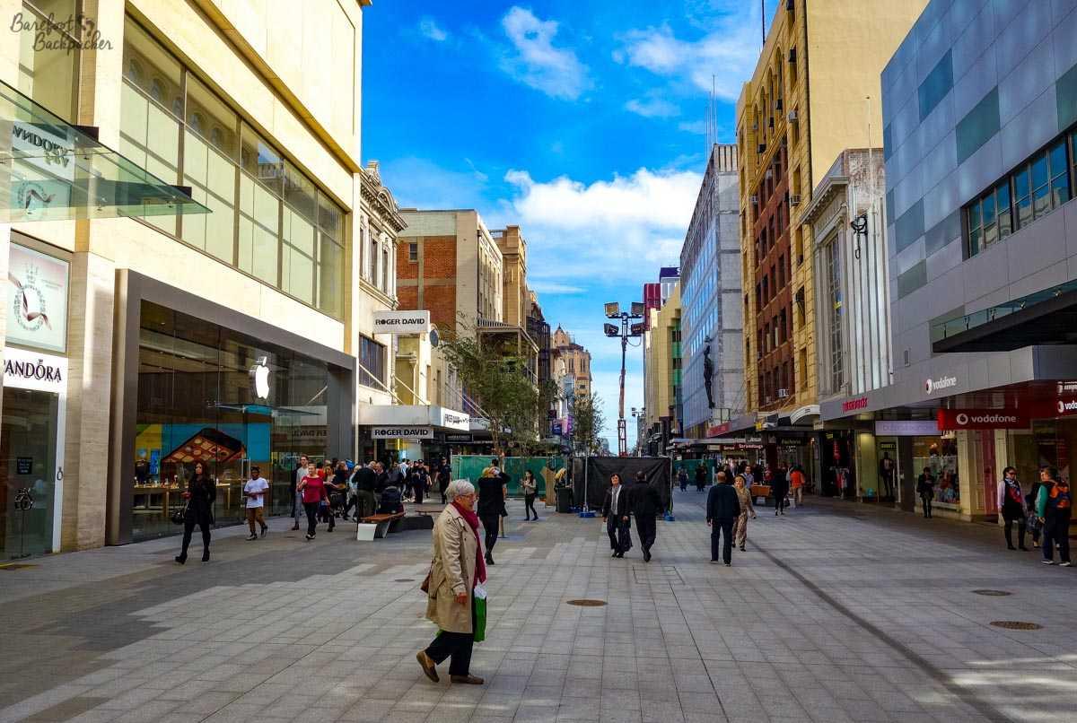 Adelaide, main street.