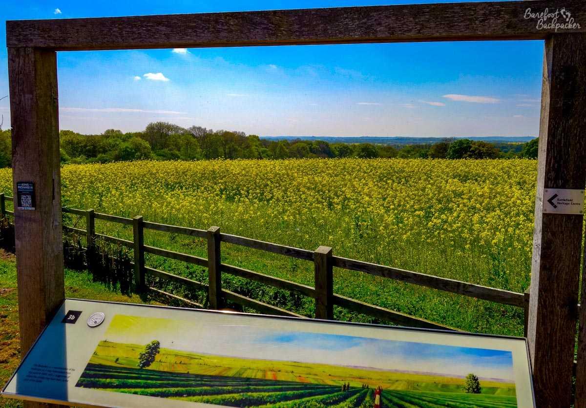 The fields where King Richard III died.