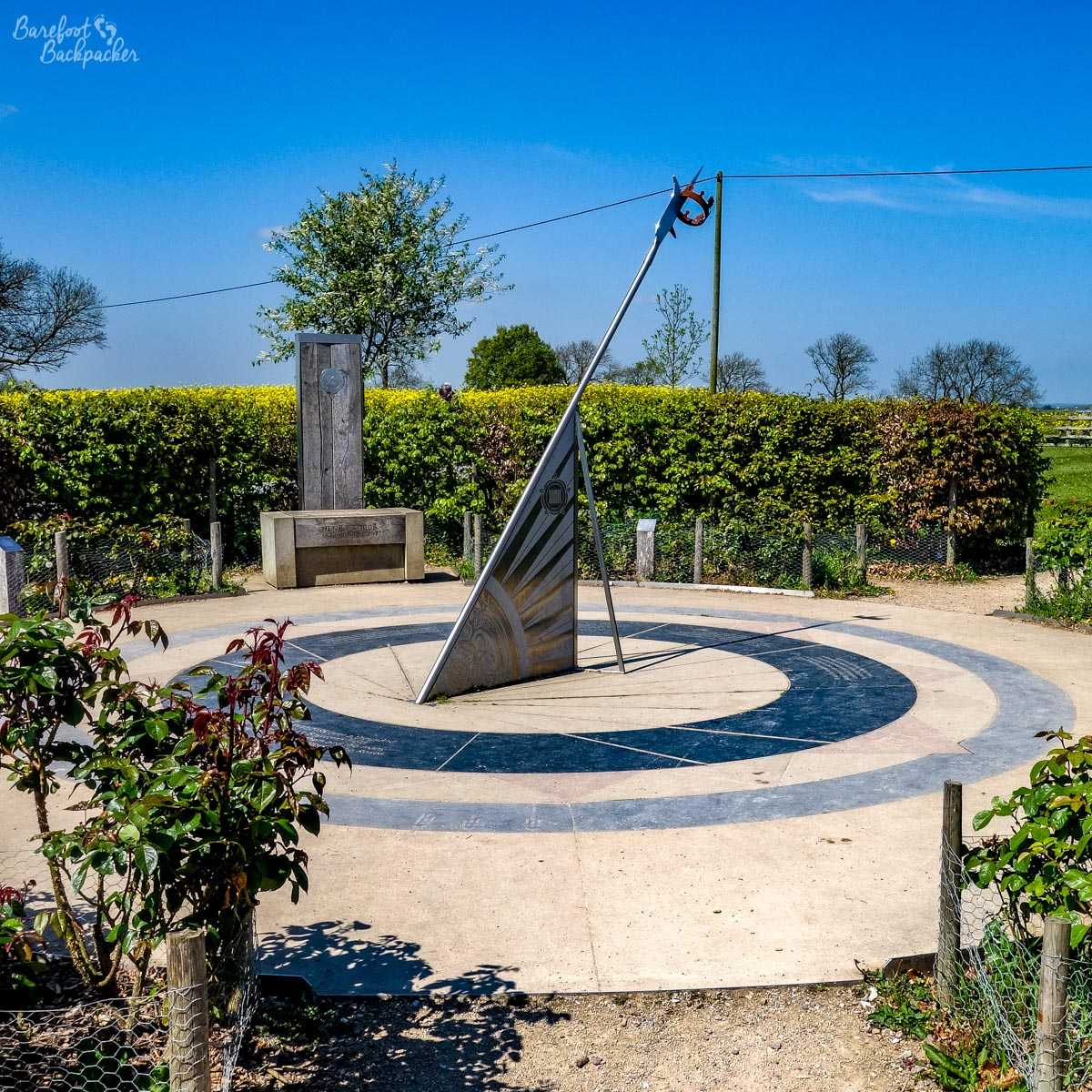 Memorial of the Battle of Bosworth, near the visitor centre.