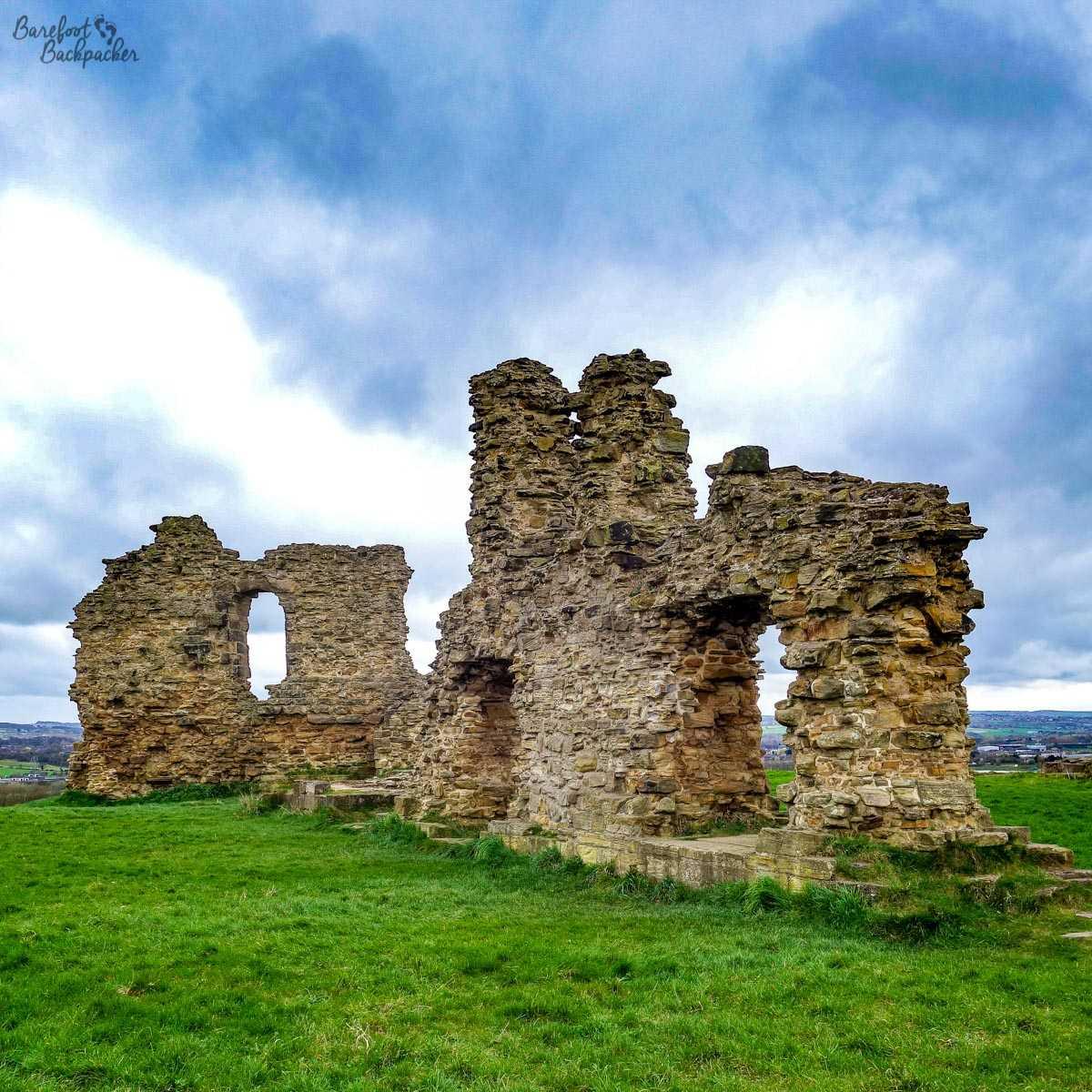Sandal Castle Ruins, Yorkshire
