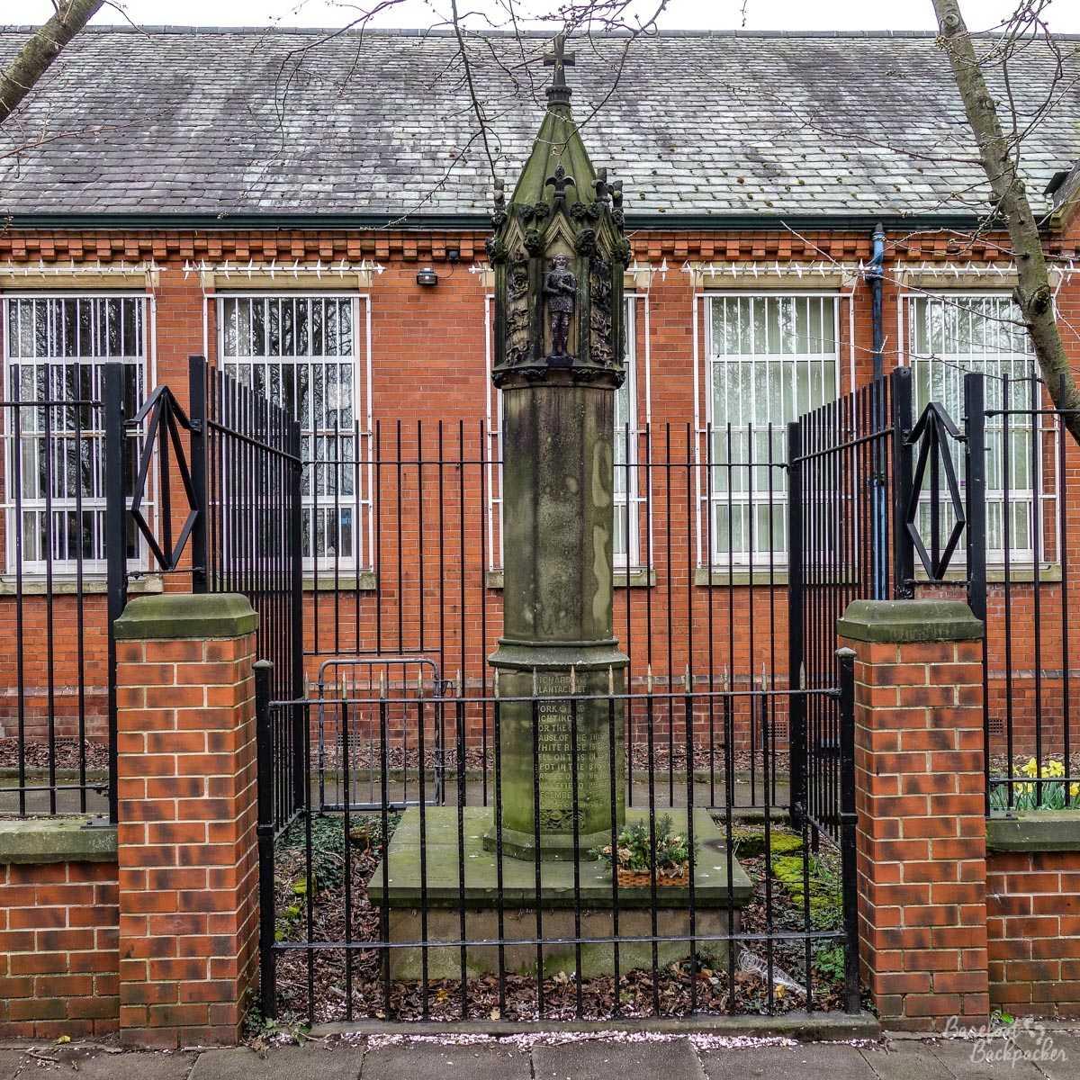 Richard Of York Memorial, Yorkshire