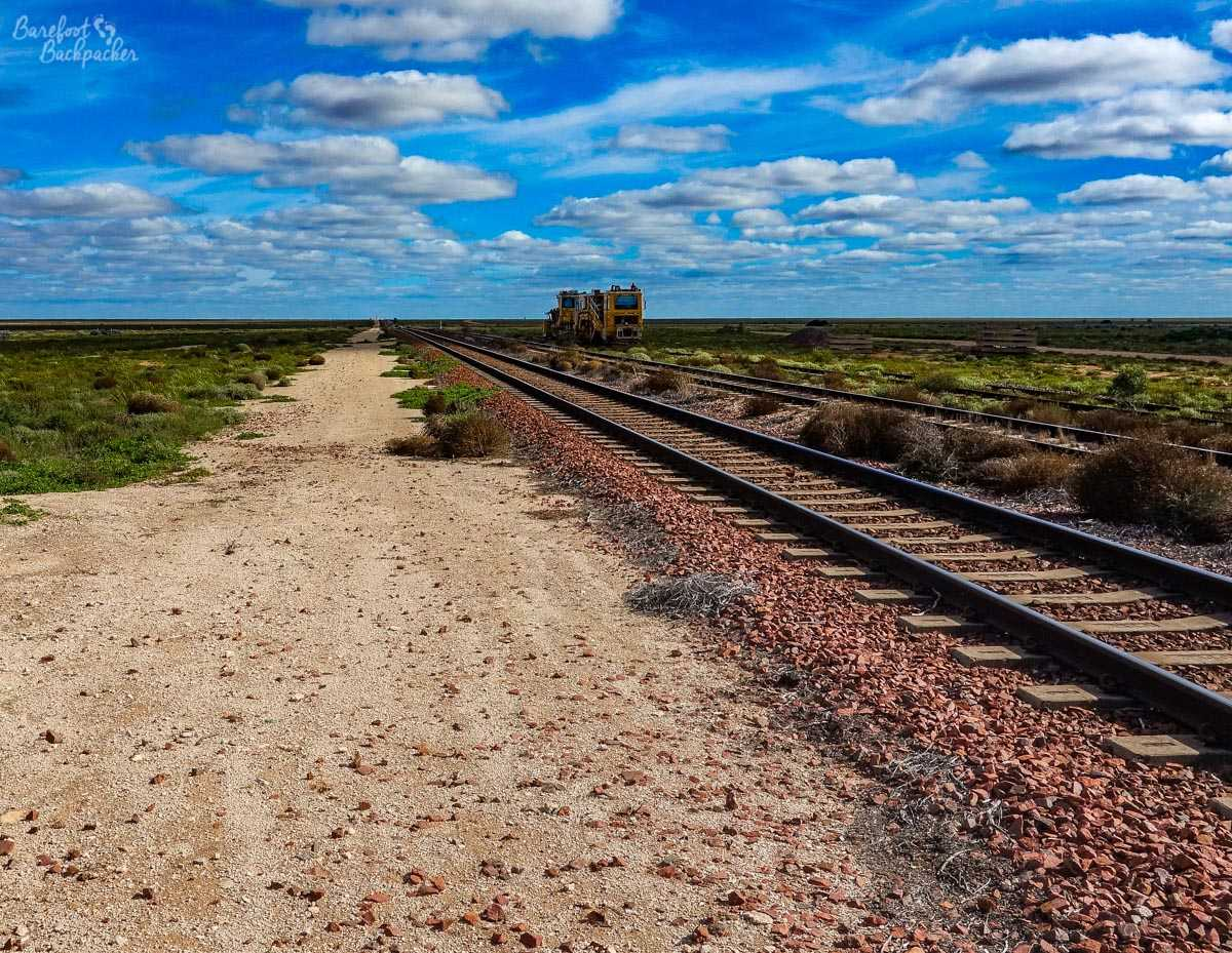 Nullarbor Plain, Australia, at Cook.