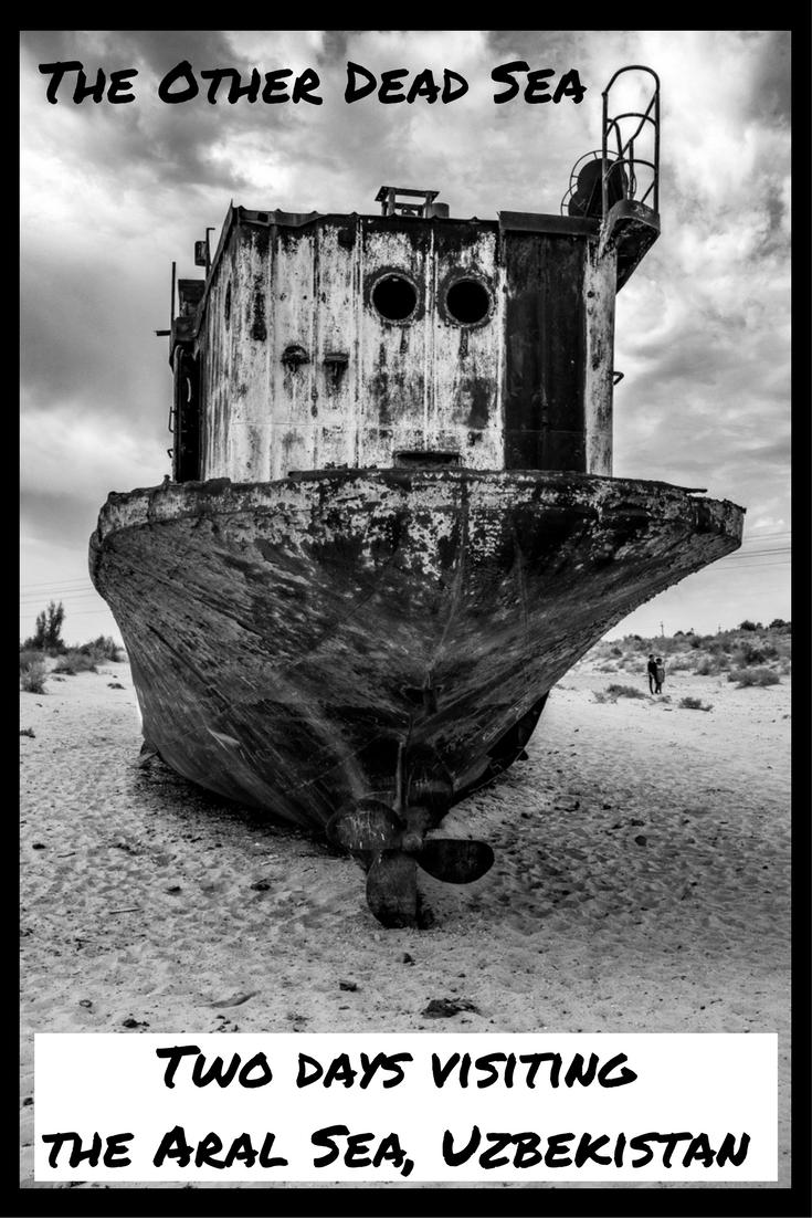 The Aral Sea, Uzbekistan.