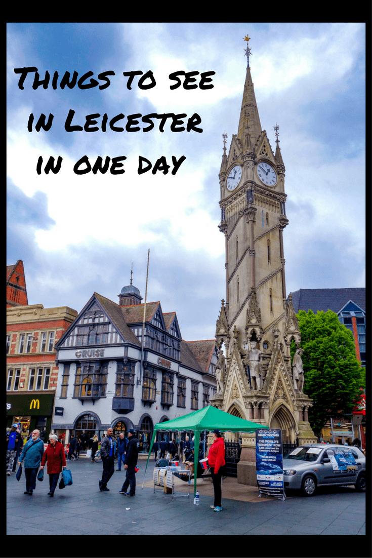 Haymarket Memorial Clock Tower, Leicester.