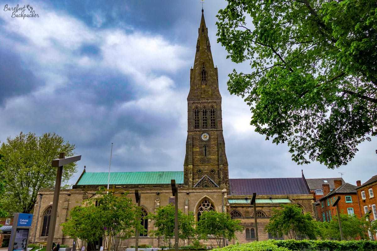 Leicester Cathedral.
