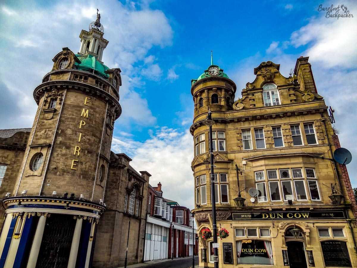 Dun Cow pub and Empire Theatre, Sunderland
