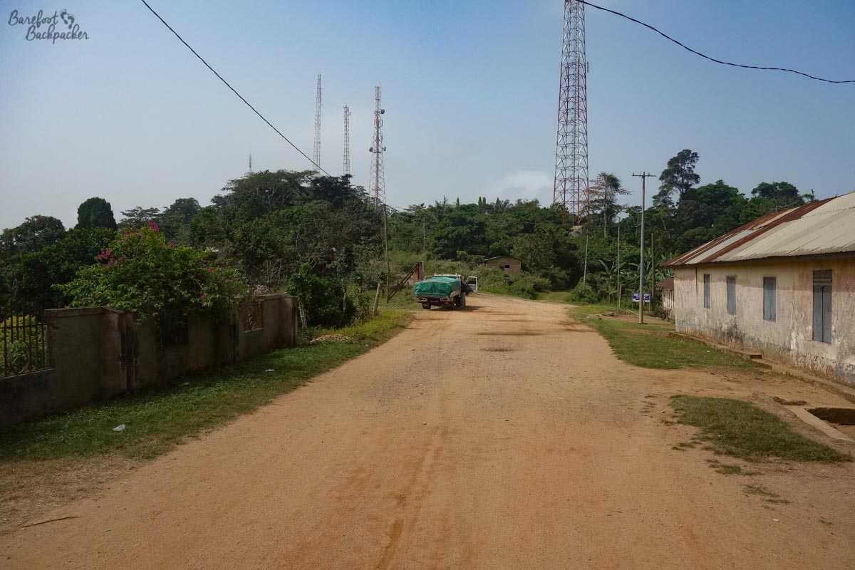 Road in the Volta Region