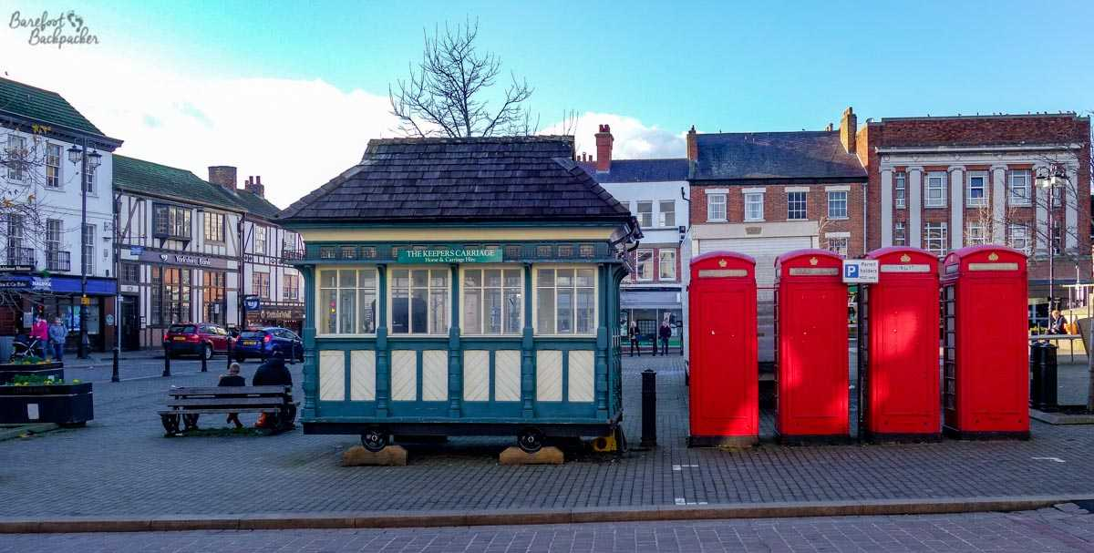 The Cabman's Shelter, Ripon Market Square.