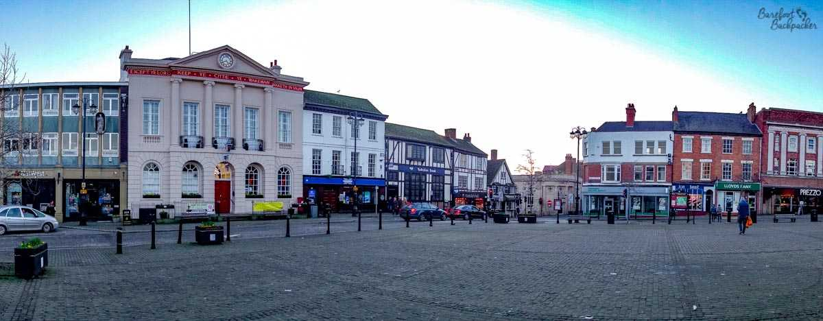 Ripon's Market Square.