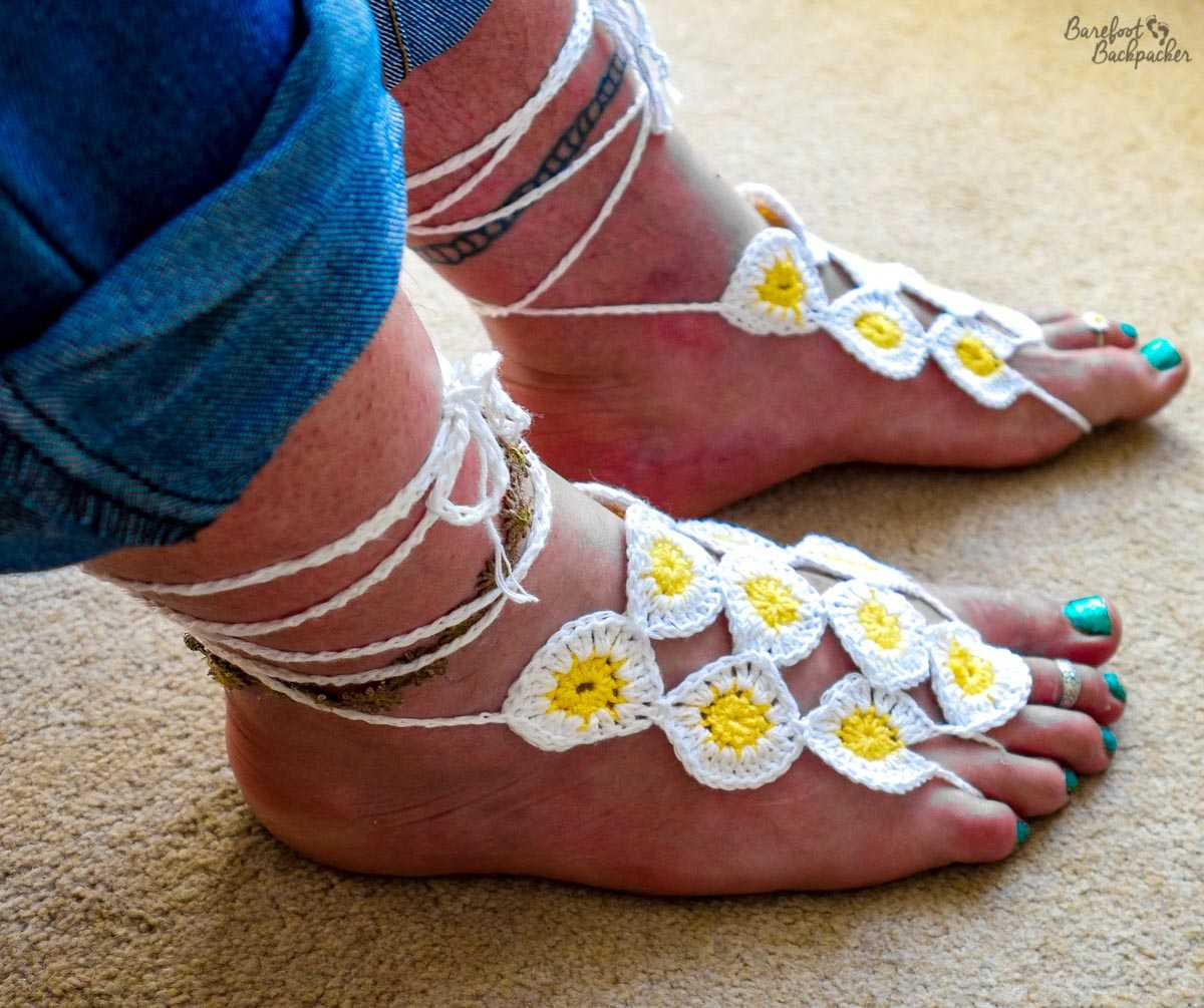 New barefoot sandals