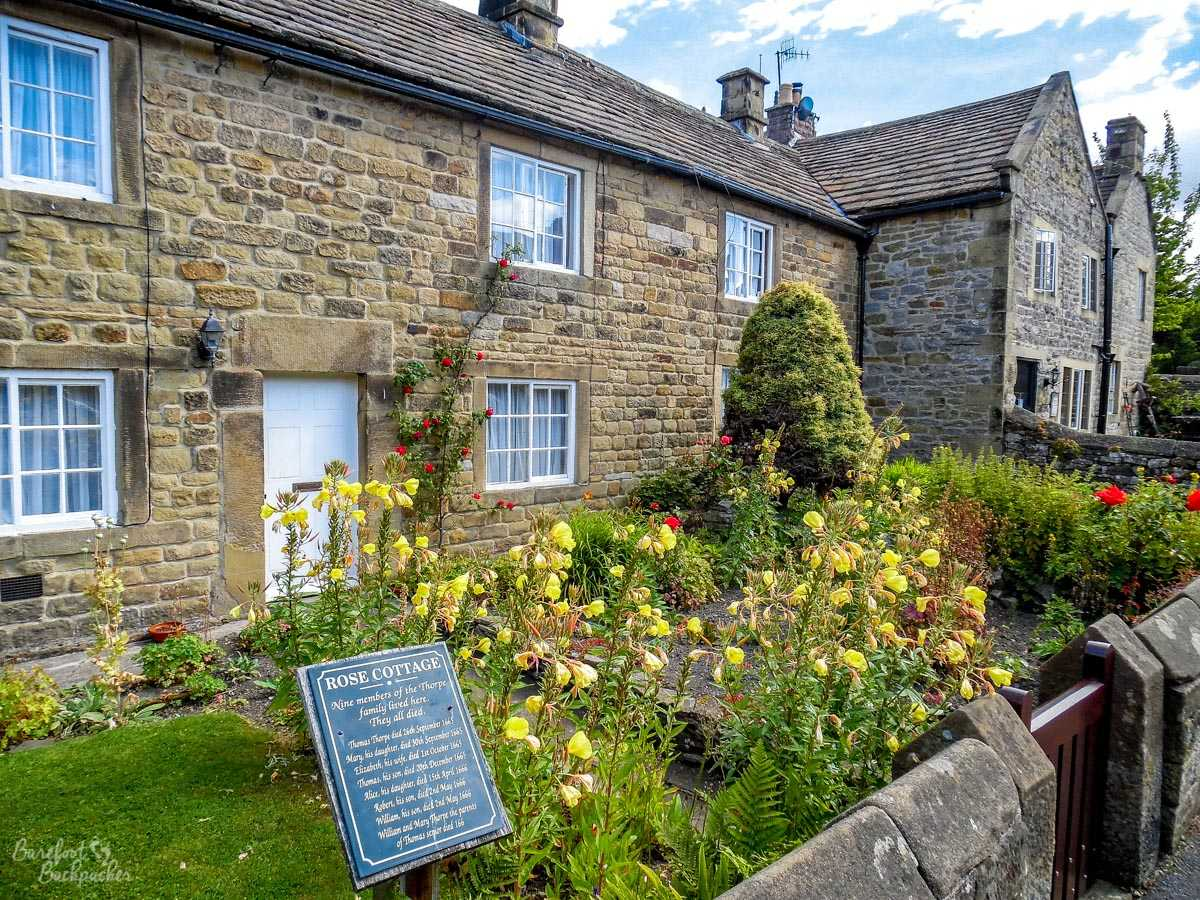 Plague Cottages, Eyam.