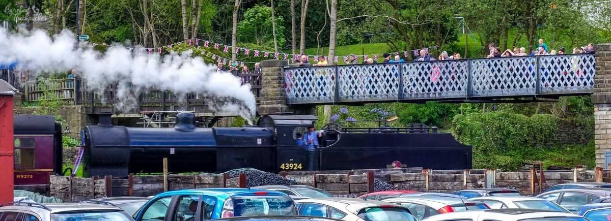 Steam Train in Haworth