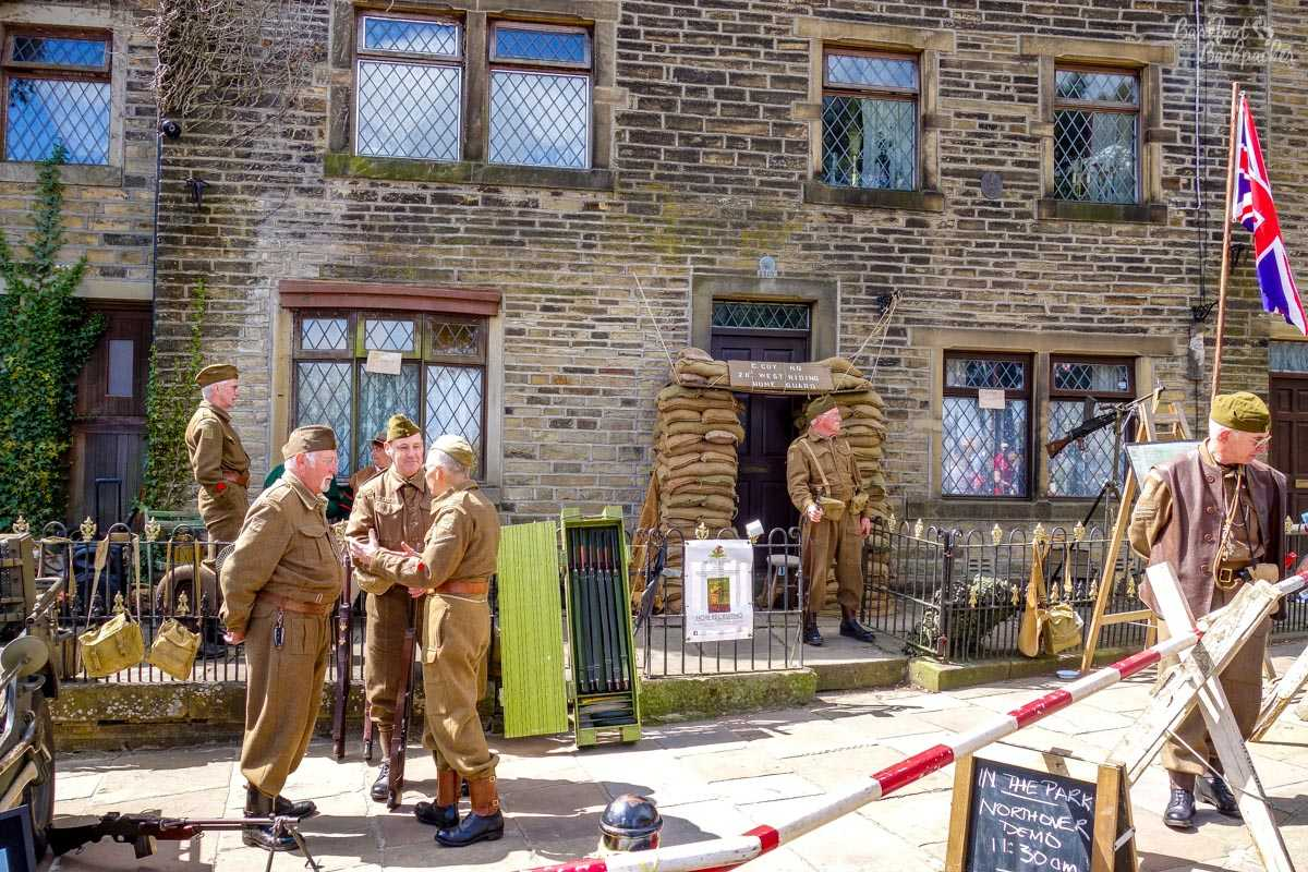 Home Guard in Haworth