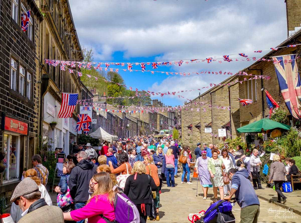 Main Street of Haworth