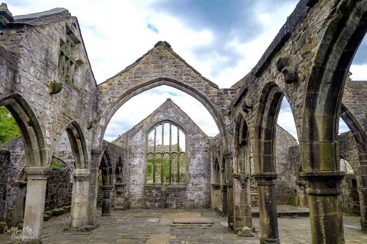 Ruined church in Heptonstall