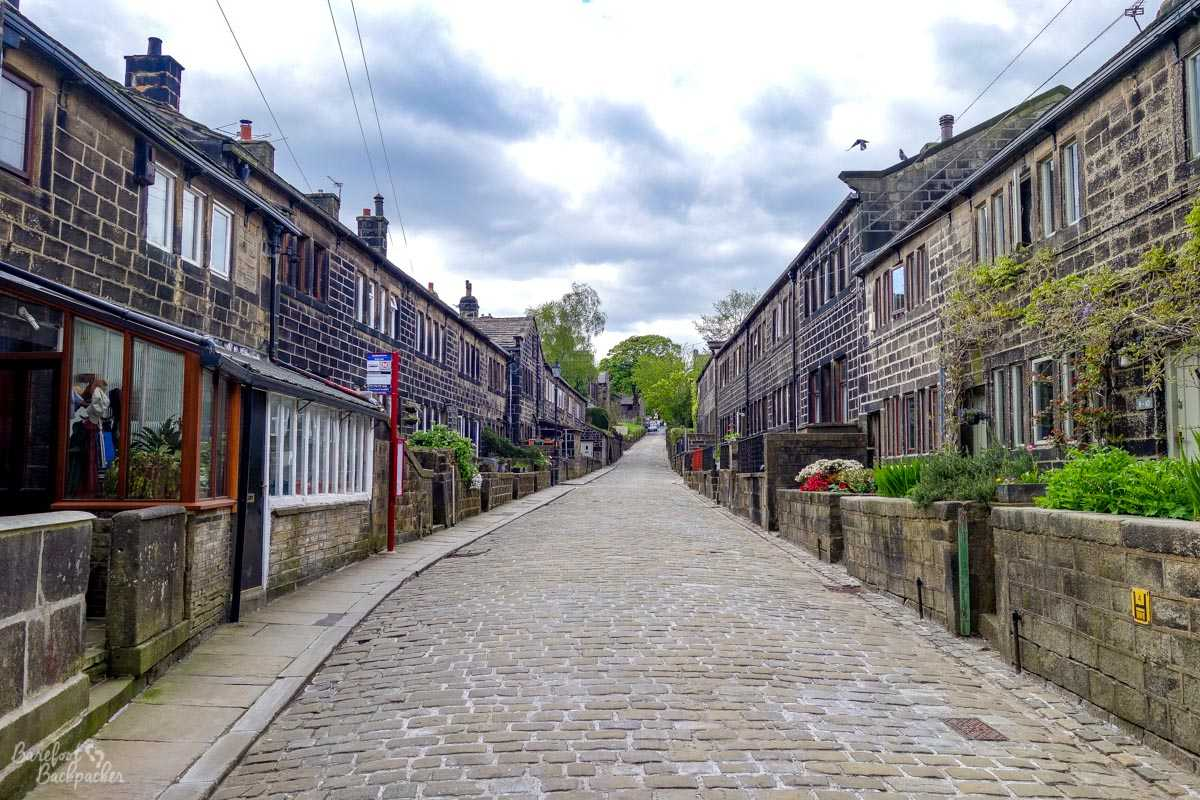 Heptonstall Town Centre