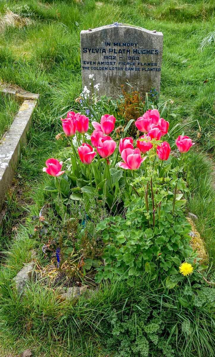 Sylvia Plath's gravestone