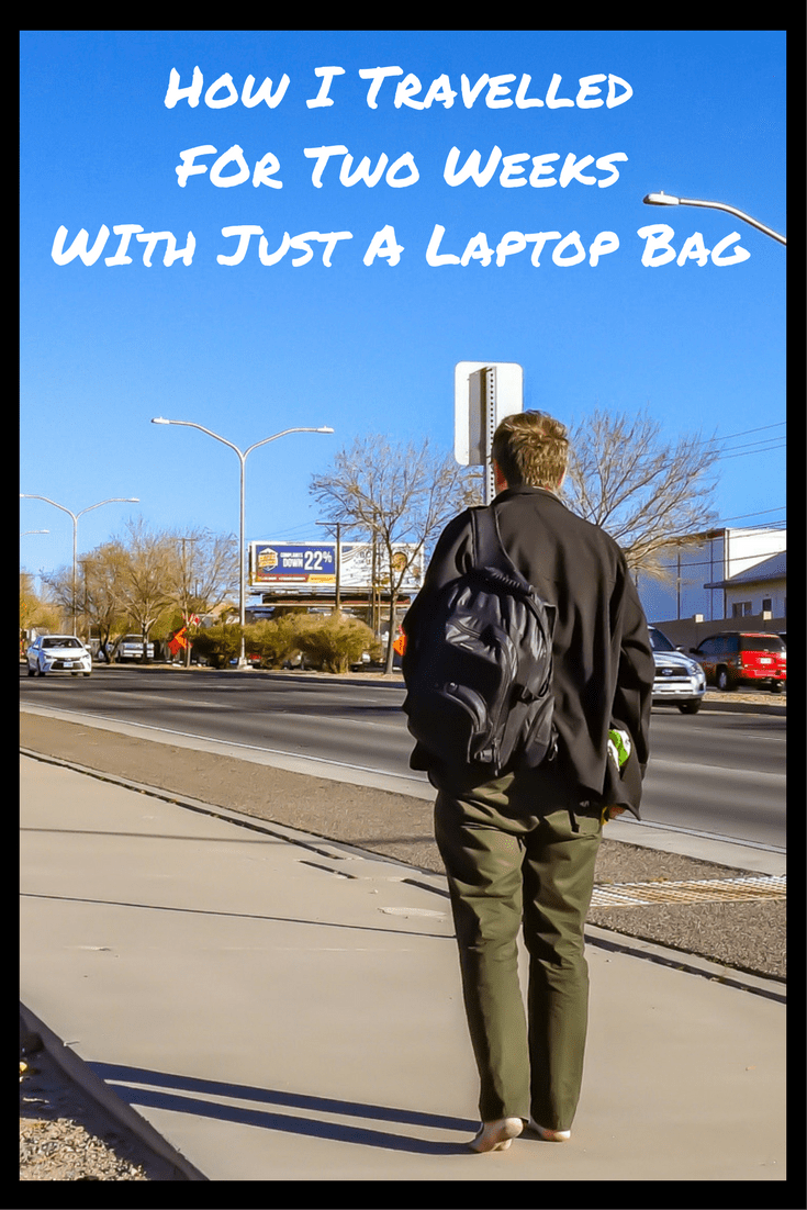 Packing Tips for travelling with merely a laptop bag!