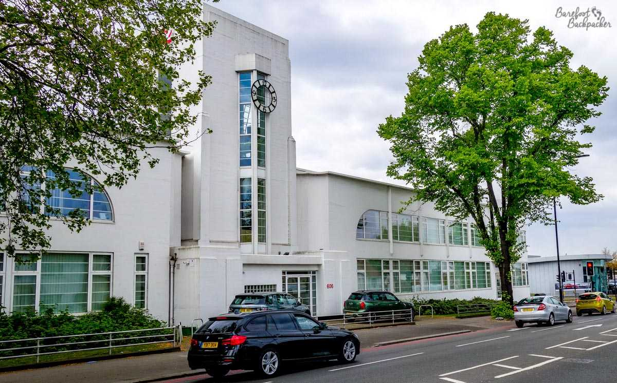 Art-Deco building at Croydon Airport