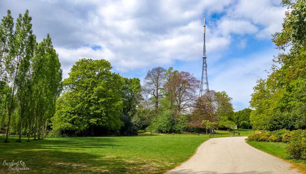 Crystal Palace park and TV transmitter