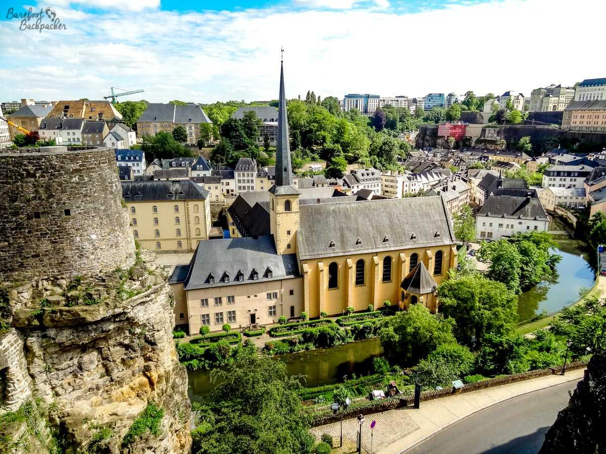 Luxembourg City Overview