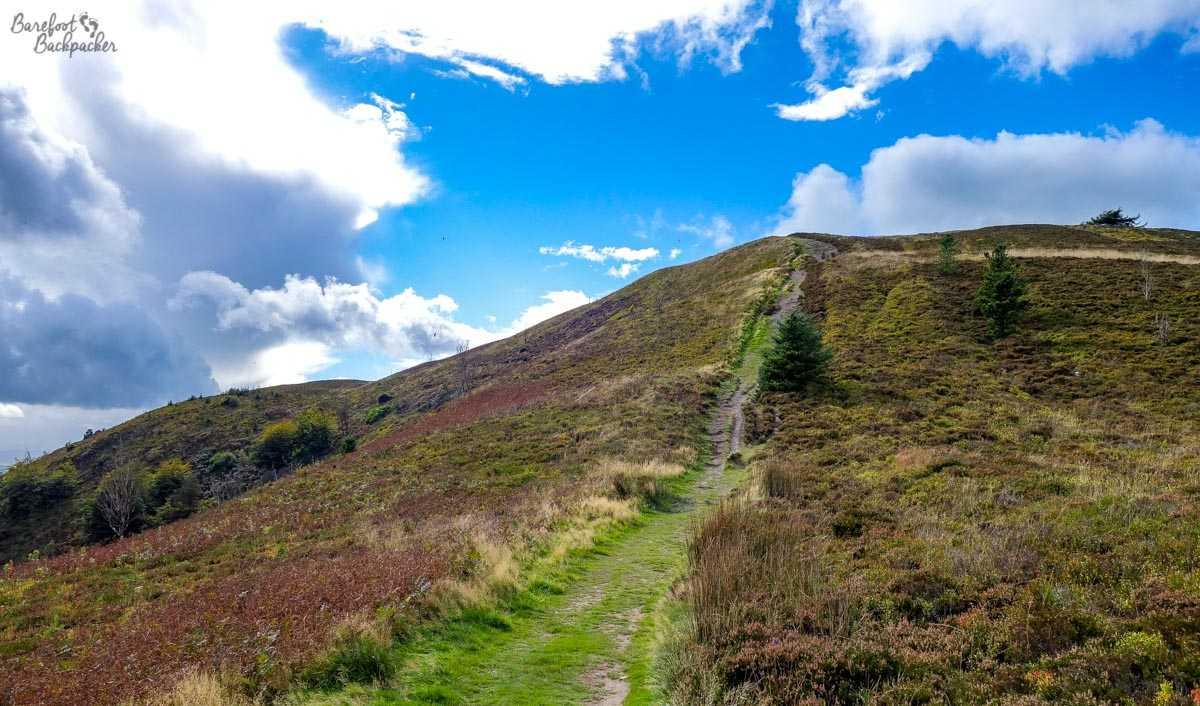 Path up Moel Famau