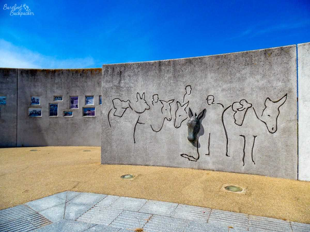 Artwork on Rhyl Promenade