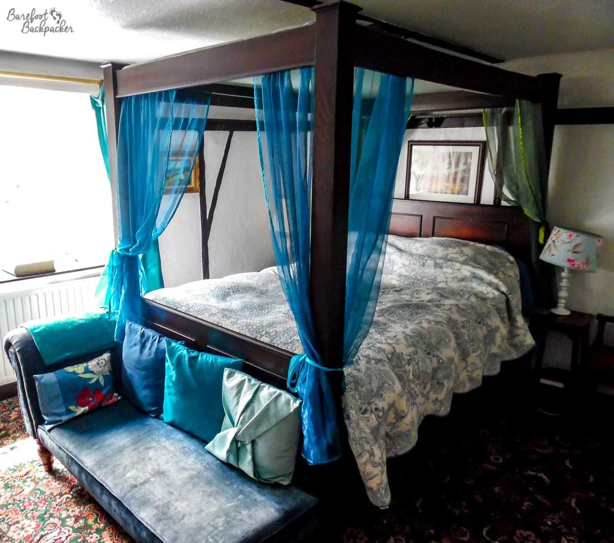 Inside one of the bedrooms