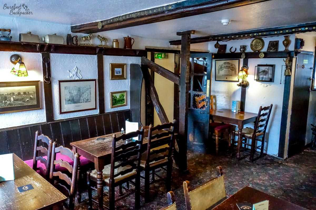 The downstairs in the Strines Inn