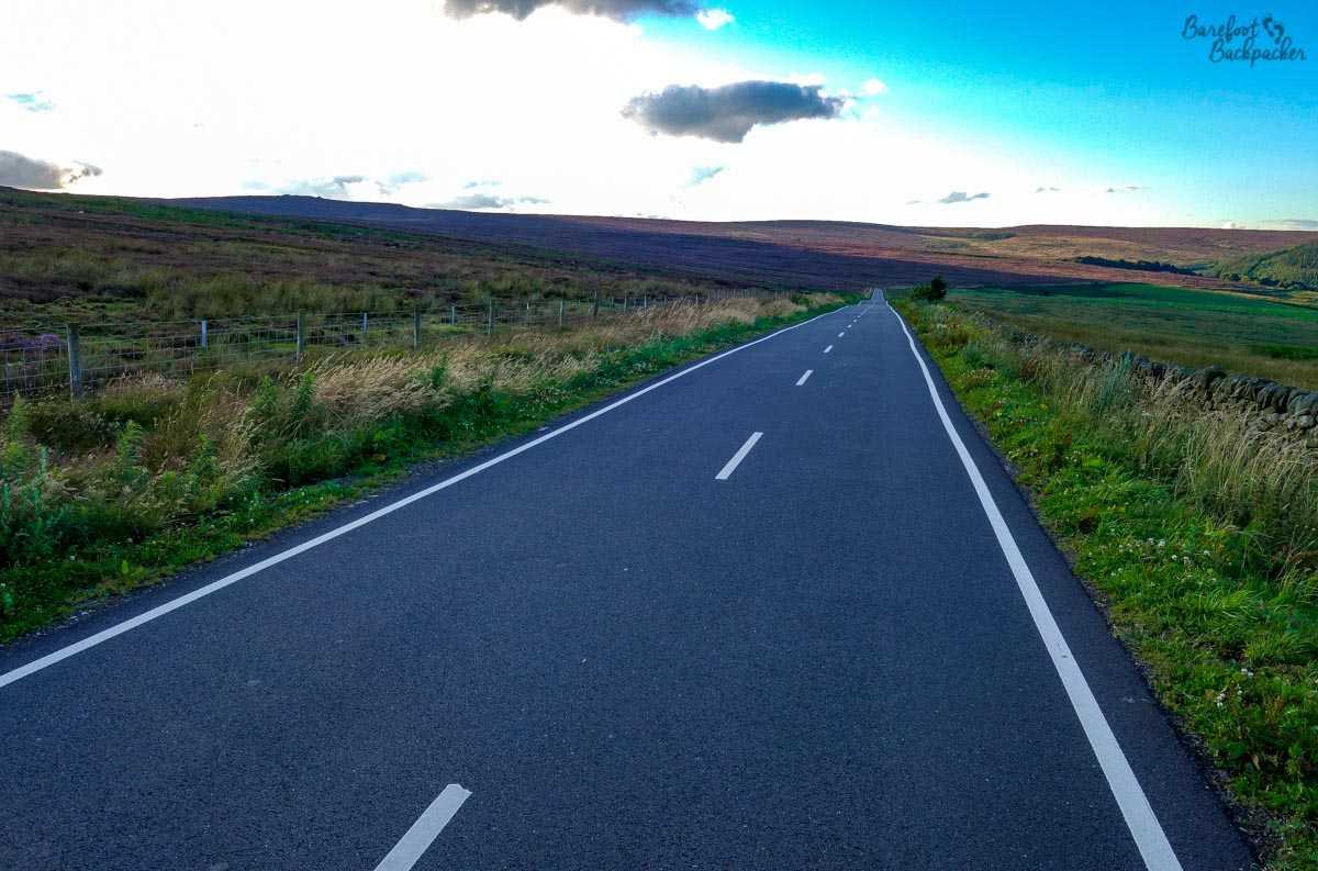 The road to Strines B&B