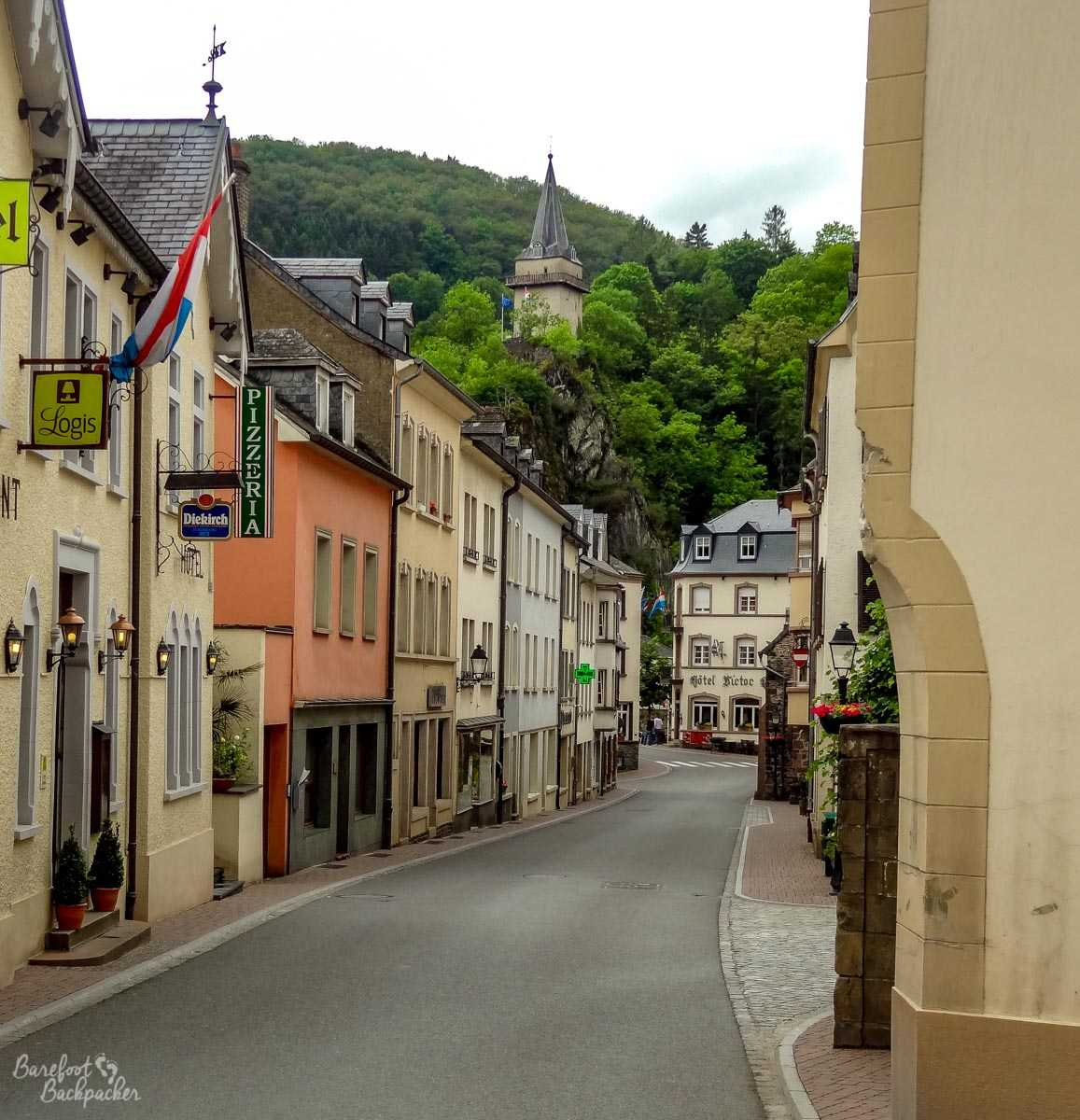 Vianden from street level