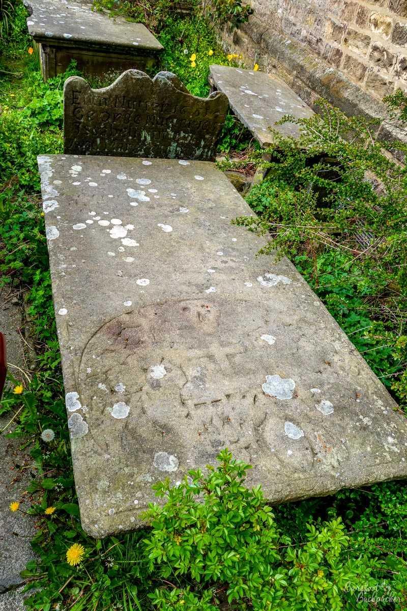 Allegedly Alice Nutter's grave