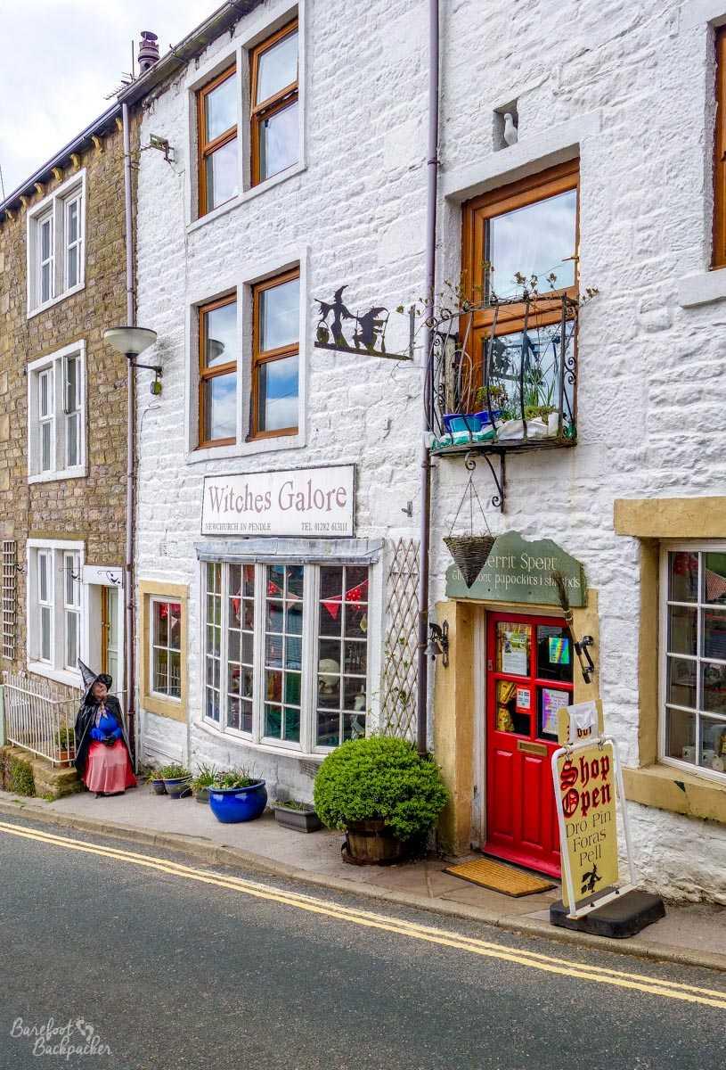 A shop in Newchurch-in-Pendle
