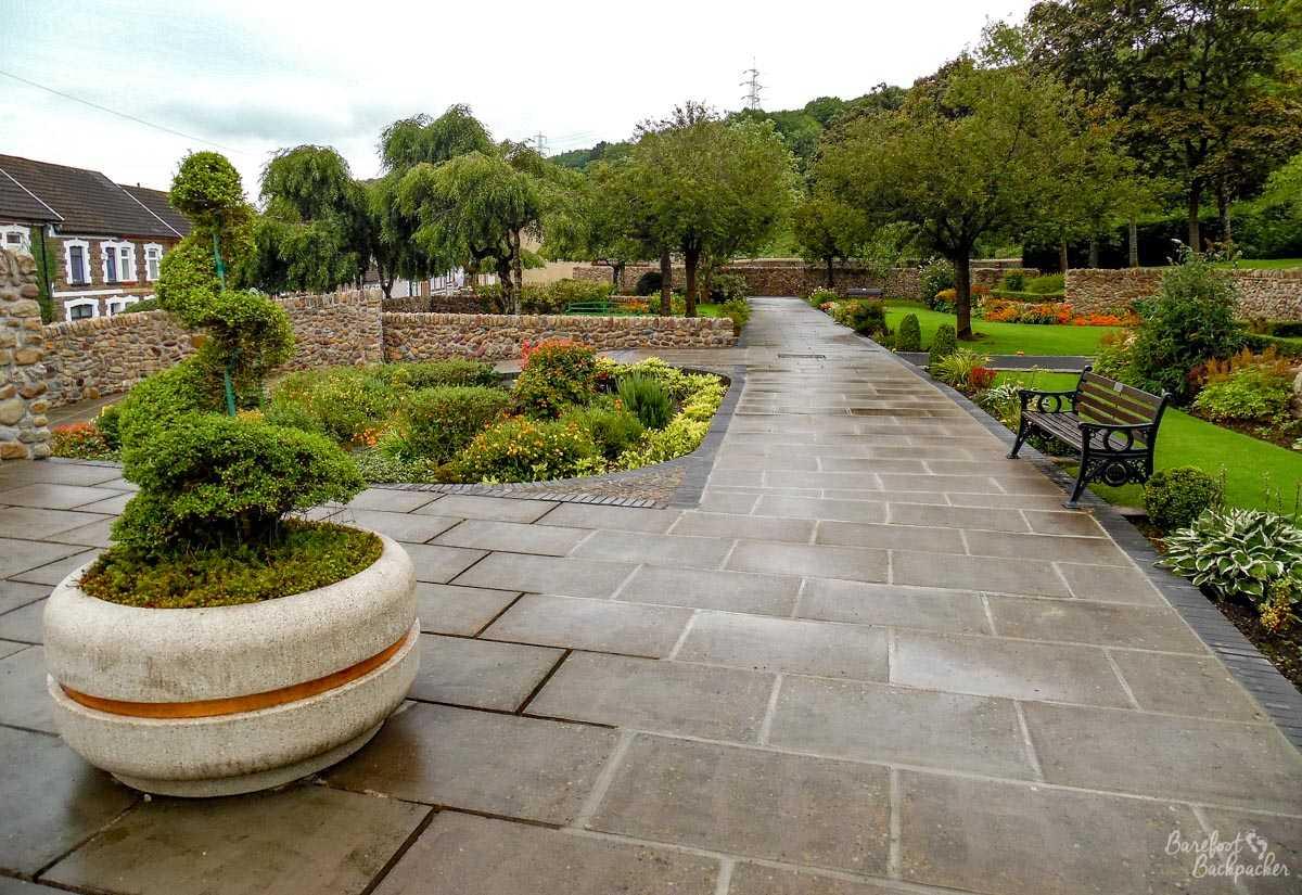 Memorial garden, Aberfan