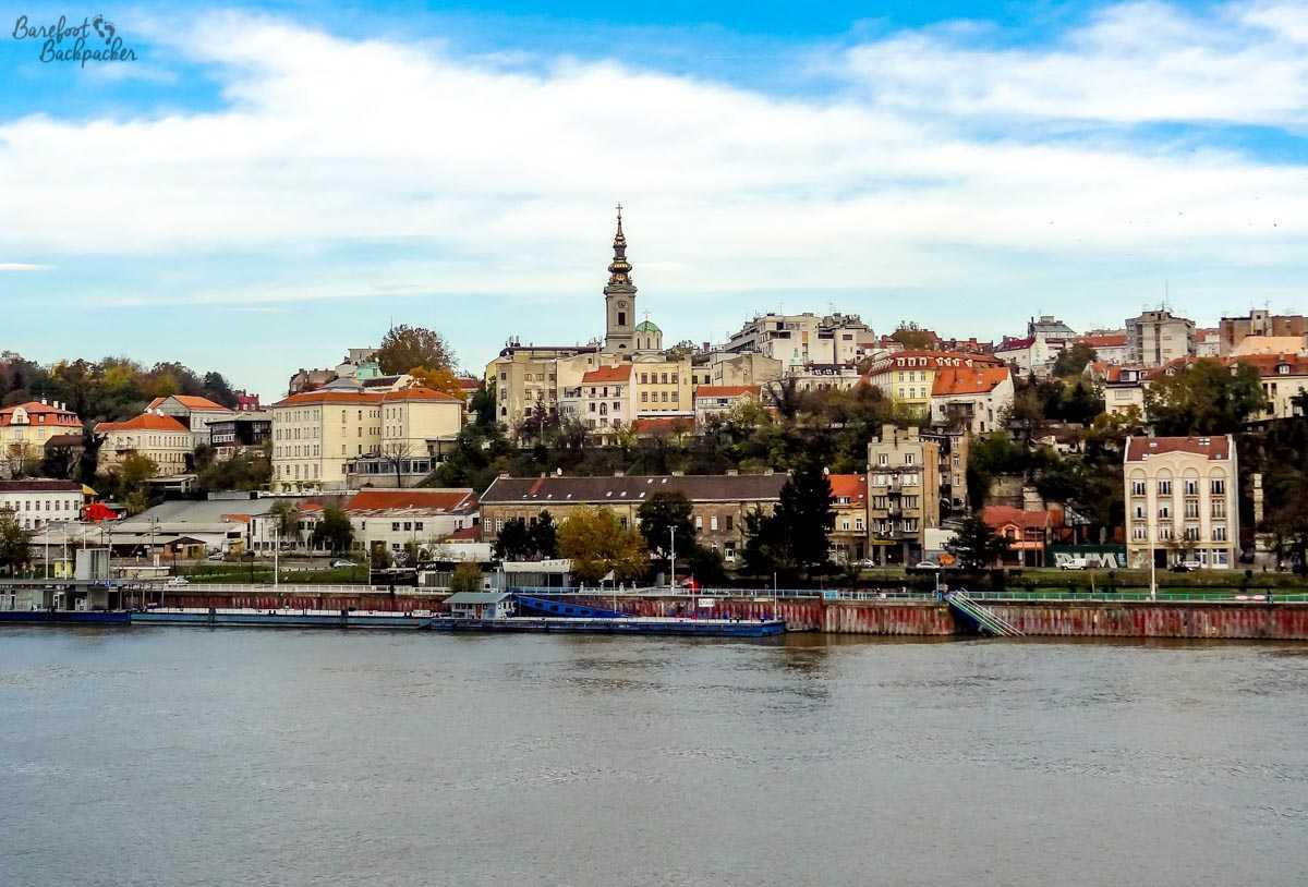 Beograd riverfront