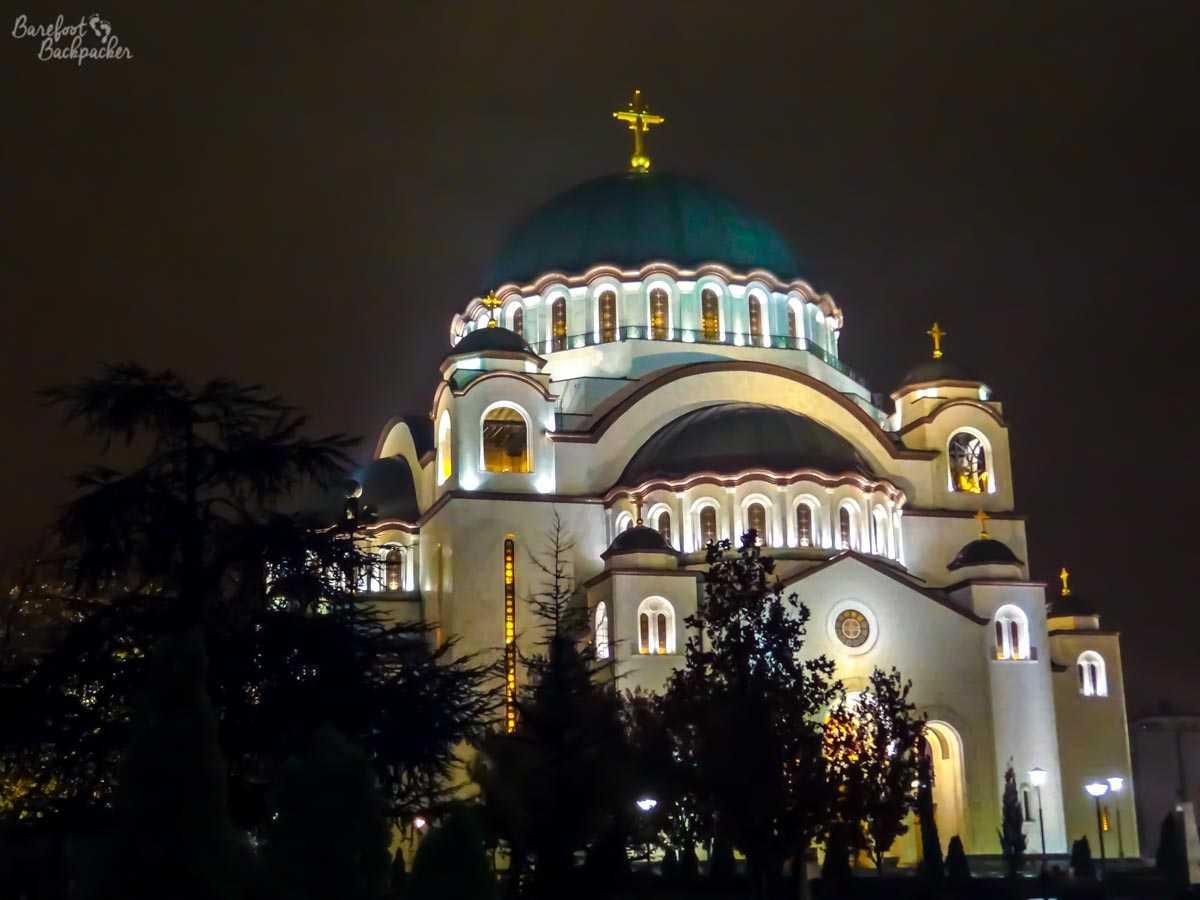 St Sava's Church, Belgrade