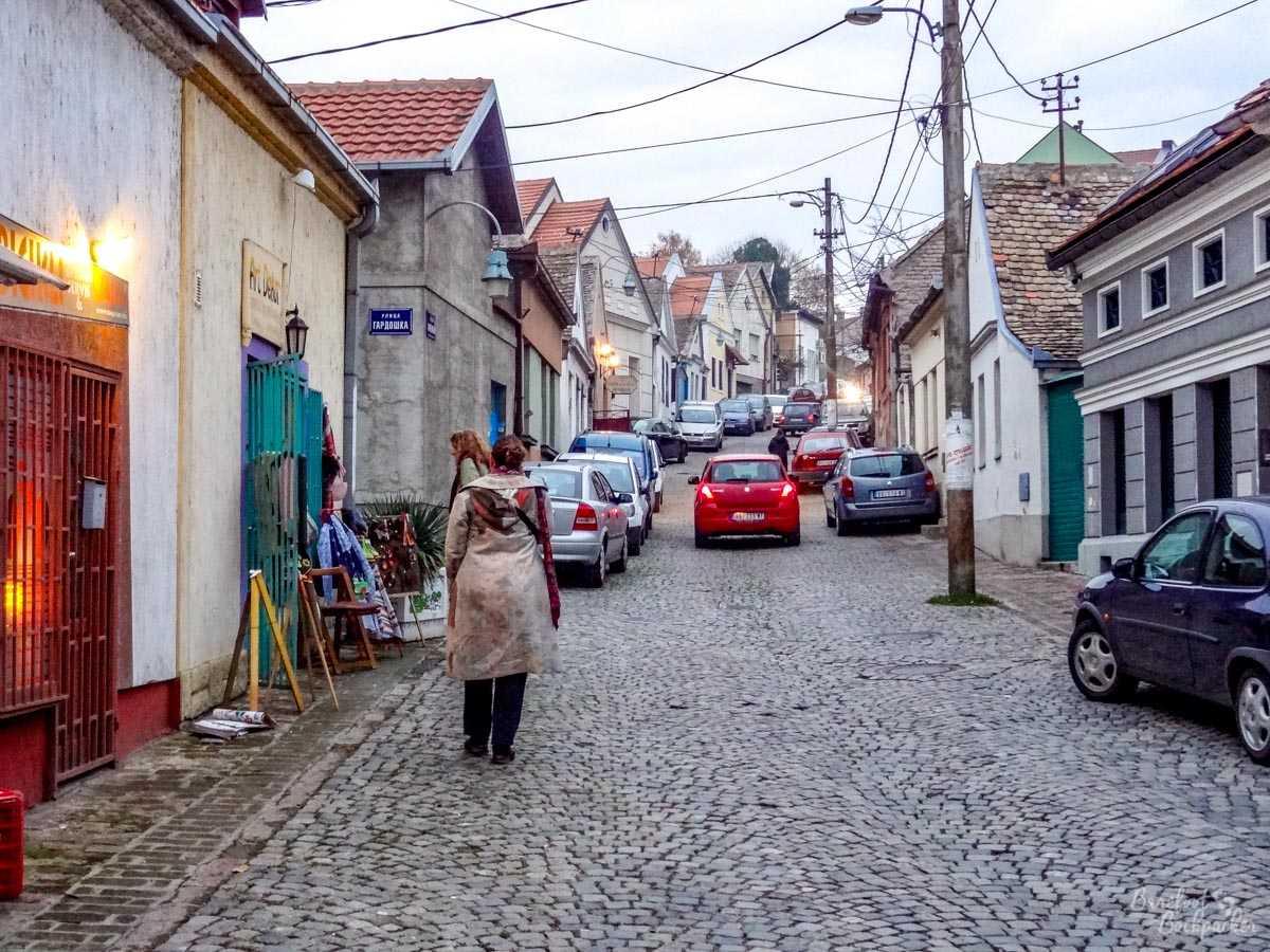 A street in Zemun