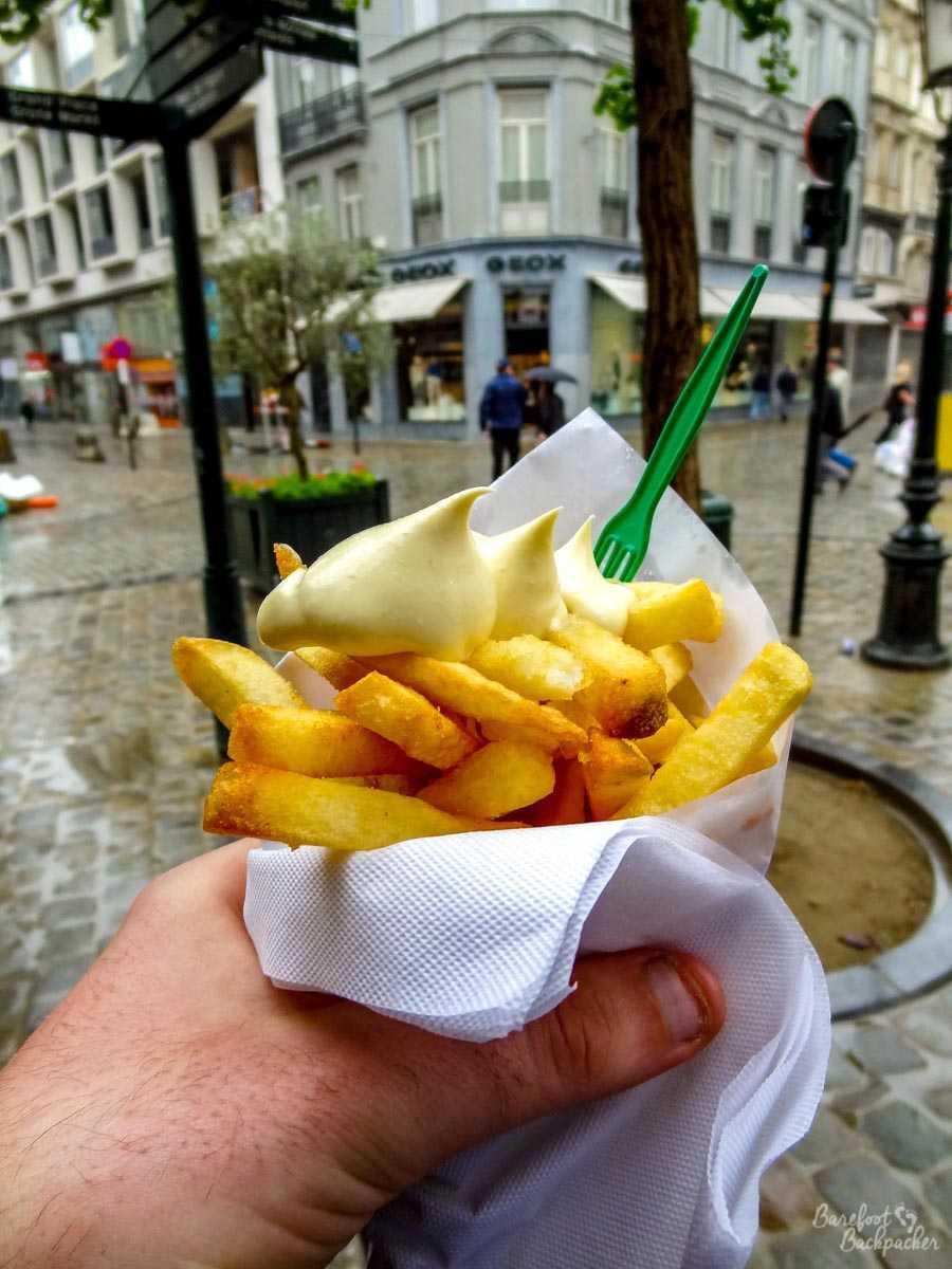 Frites with mayo