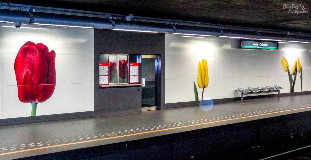 Sainte-Catherine Metro Station