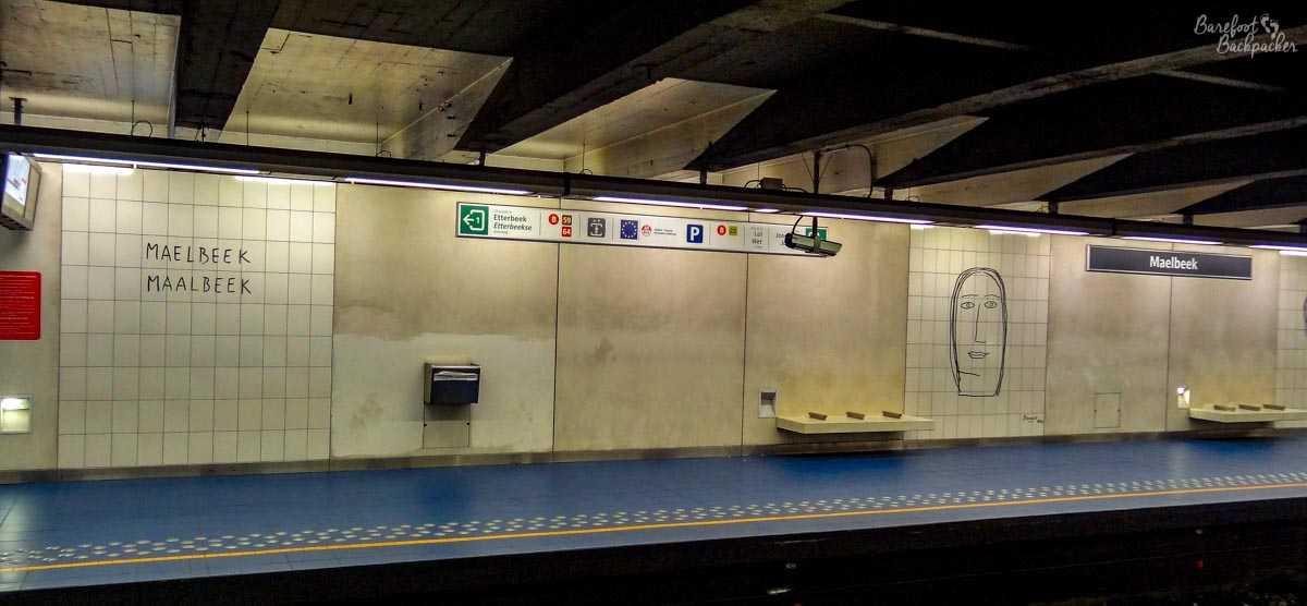 Maelbeek Metro Station