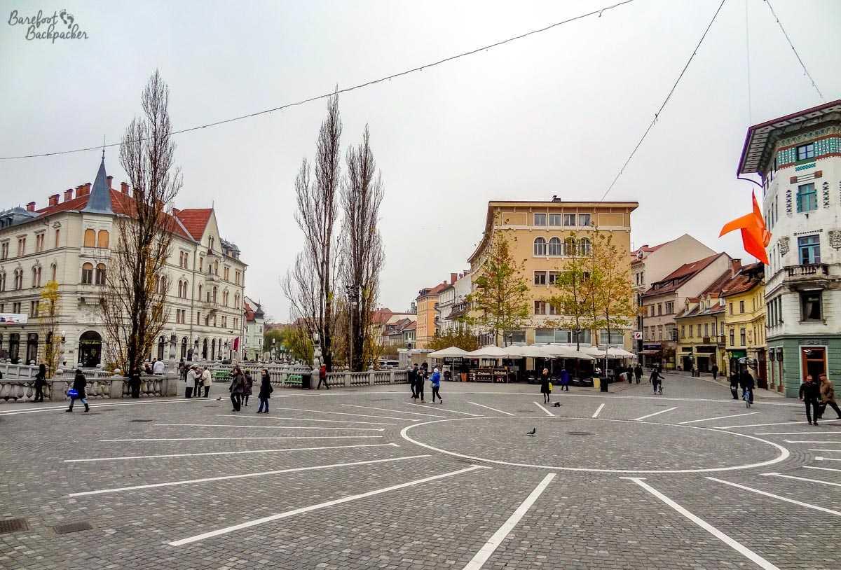 Ljubljana's main square
