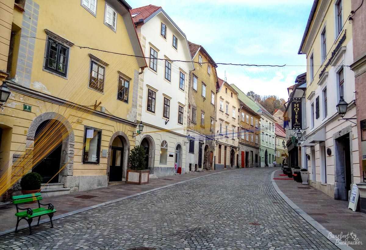 Ljubljana Town Centre