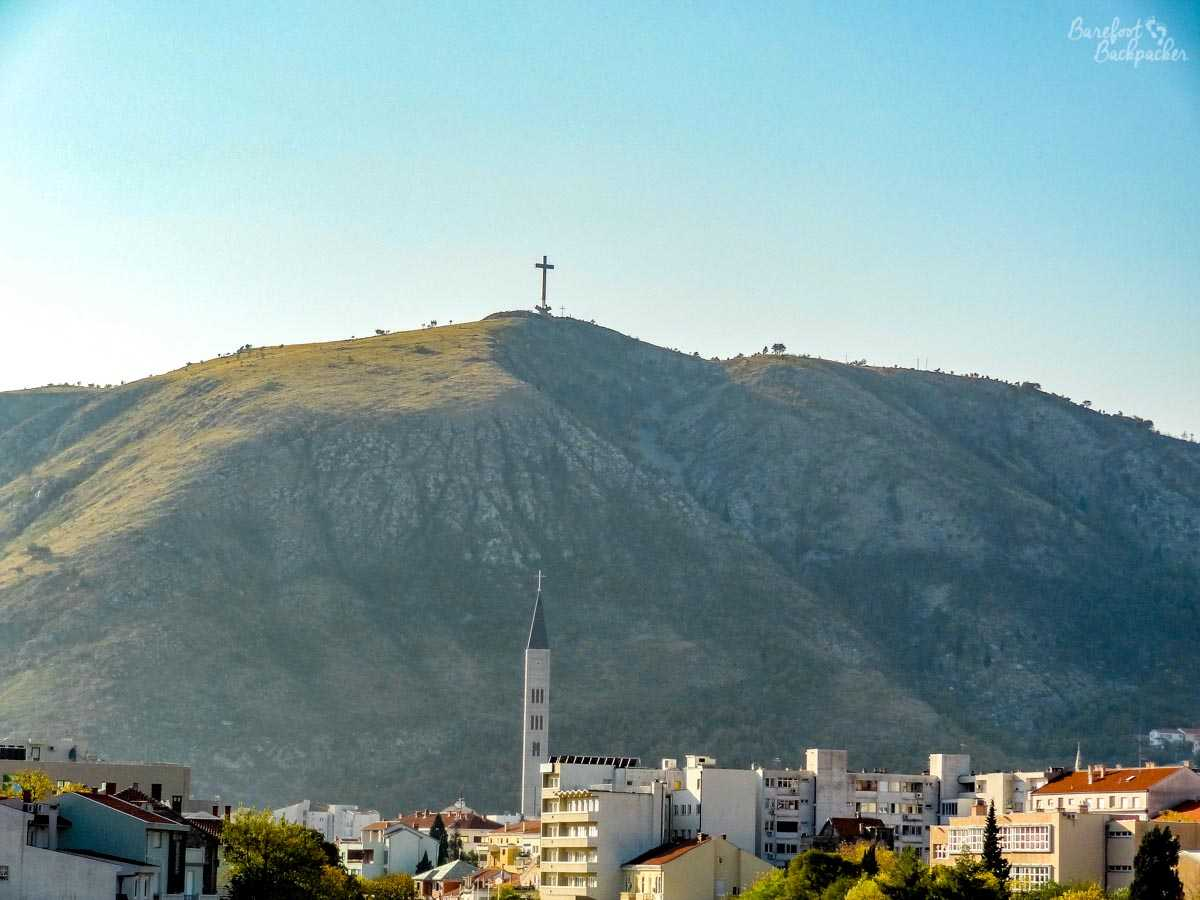 Mountains near Mostar