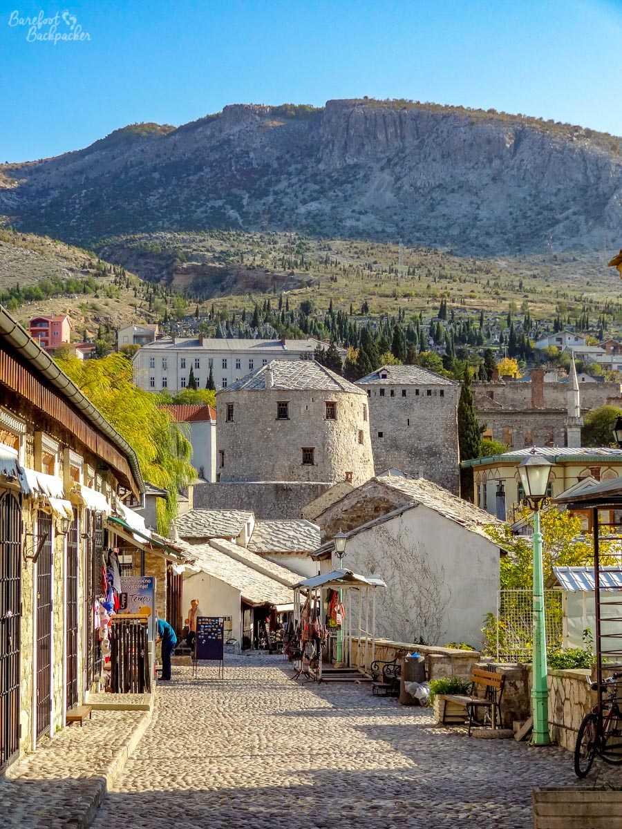 Mostar city street